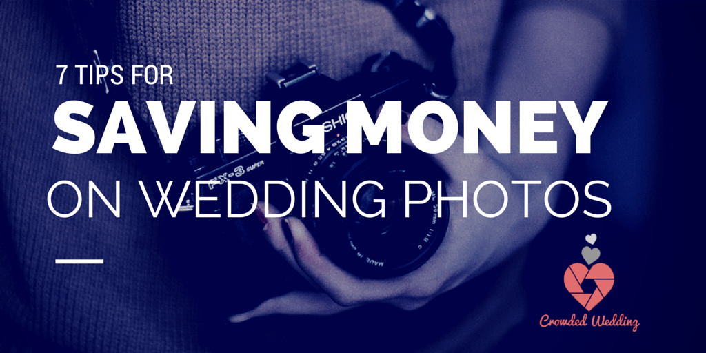 save money on wedding photography